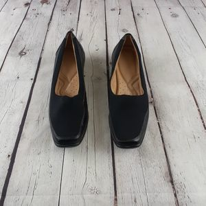 Naturalizer Justify Fabric Leather Pumps Size 8M